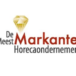 Rients Faber Sponsort 'De Meest Markante Horecaondernemer'