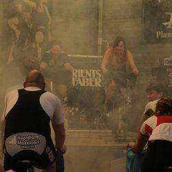 Faber Sponsort Spinningmarathon Fietsen Voor Vrienden