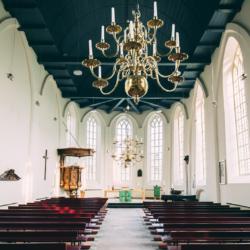 Geluidsinstallatie Kerk Ameland.