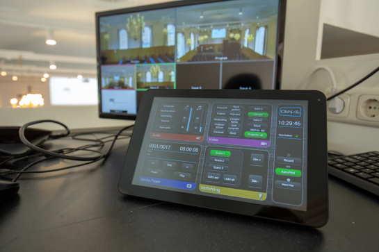 Volledige controle over licht, beeld en geluid tijdens de kerkdienst