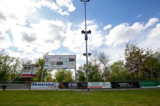 Geluidsinstallatie voetbalveld