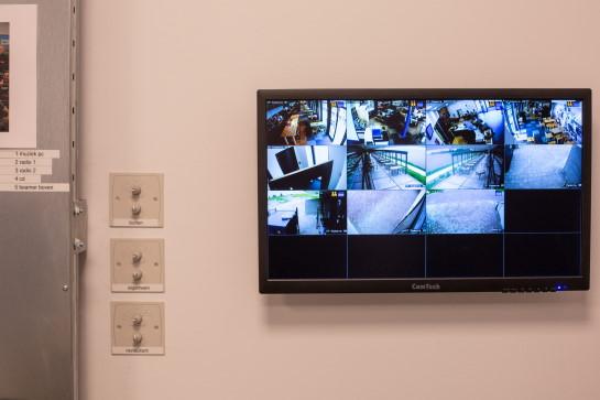 Installatie van beveiligingscamera's door Rients Faber
